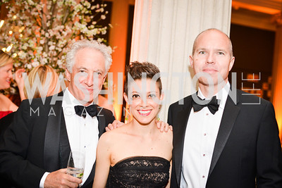 Harry Jaffe, Rose Jaffe, David Catania,  59th Annual Corcoran Ball.  Friday, April 25th, 2014.  Photo by Ben Droz.
