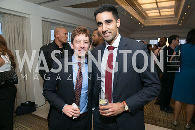 Eddie Haubrich.  Photo by Alfredo Flores. 5th Annual Our Voices Celebrating Diversity in Media reception to kick off White House Correspondents Weekend festivities. Hay Adams Hotel. May 2, 2014