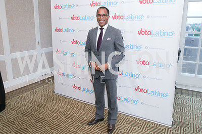 Jonathan Capehart. Photo by Alfredo Flores. 5th Annual Our Voices Celebrating Diversity in Media reception to kick off White House Correspondents Weekend festivities. Hay Adams Hotel. May 2, 2014