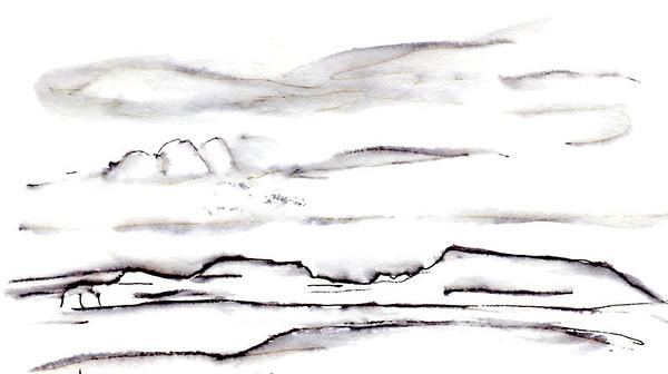 Flaming Cliffs.