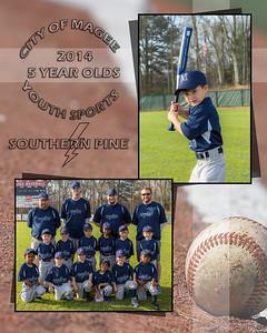 5yr old Baseball