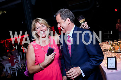 News4's Wendy Rieger and Jim Handly. Photo by Tony Powell. 2014 Newsbabes Bash for Breast Cancer. Powerhouse.JPG