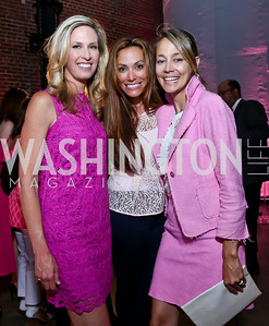 Fox5's Laura Evans, Dawn Gontkovic, Mary Noone. Photo by Tony Powell. 2014 Newsbabes Bash for Breast Cancer. Powerhouse. June 11, 2014