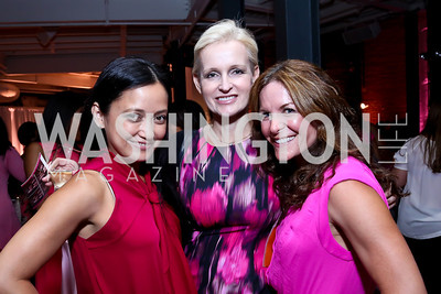 Maria Adoremos, Adina Cherry, Rosina Aguiar. Photo by Tony Powell. 2014 Newsbabes Bash for Breast Cancer. Powerhouse. June 11, 2014