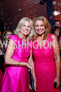 Dr. Jill Biden, Rebecca Cooper. Photo by Tony Powell. 2014 Newsbabes Bash for Breast Cancer. Powerhouse. June 11, 2014