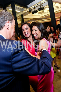News4 Anchors Dianna Russini and Eun Yang. Photo by Tony Powell. 2014 Newsbabes Bash for Breast Cancer. Powerhouse. June 11, 2014
