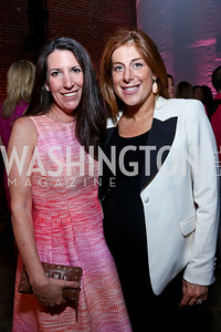 Barbara Martin, Jayne Sandman. Photo by Tony Powell. 2014 Newsbabes Bash for Breast Cancer. Powerhouse. June 11, 2014