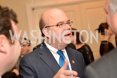 Rep. Jim McGovern (D-MA) Washington Press Club Foundation hosts the 70th Annual Congressional Dinner.  Mandarin Oriental Hotel, February 5, 2014.  Photo by Ben Droz.