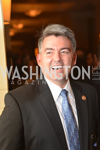 Rep. Cory Gardner (R-CO) Washington Press Club Foundation hosts the 70th Annual Congressional Dinner.  Mandarin Oriental Hotel, February 5, 2014.  Photo by Ben Droz.