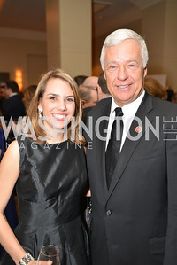 Rep. Mike Michaud, Lauren Fox, Washington Press Club Foundation hosts the 70th Annual Congressional Dinner.  Mandarin Oriental Hotel, February 5, 2014.  Photo by Ben Droz.