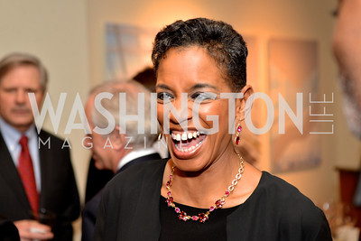 Rep. Donna Edwards (D-MD) Washington Press Club Foundation hosts the 70th Annual Congressional Dinner.  Mandarin Oriental Hotel, February 5, 2014.  Photo by Ben Droz.