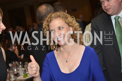 Rep. Debbie Wasserman Schultz (D-FL) Washington Press Club Foundation hosts the 70th Annual Congressional Dinner.  Mandarin Oriental Hotel, February 5, 2014.  Photo by Ben Droz.