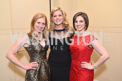 Jackie Kucinich, Brianna Keilar, Megan Whittemore, Washington Press Club Foundation hosts the 70th Annual Congressional Dinner.  Mandarin Oriental Hotel, February 5, 2014.  Photo by Ben Droz.