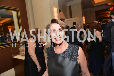 Rep. Nancy Pelosi, Washington Press Club Foundation hosts the 70th Annual Congressional Dinner.  Mandarin Oriental Hotel, February 5, 2014.  Photo by Ben Droz.