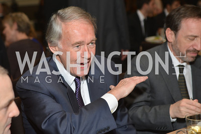 Senator Ed Markey (D-MA) Washington Press Club Foundation hosts the 70th Annual Congressional Dinner.  Mandarin Oriental Hotel, February 5, 2014.  Photo by Ben Droz.