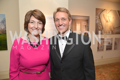 Rep. Cathy McMorris Rodgers, Senator Jeff Flake, Washington Press Club Foundation hosts the 70th Annual Congressional Dinner.  Mandarin Oriental Hotel, February 5, 2014.  Photo by Ben Droz.