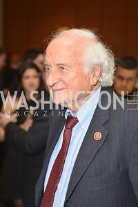 Rep. Sander Levin (D-MI) Washington Press Club Foundation hosts the 70th Annual Congressional Dinner.  Mandarin Oriental Hotel, February 5, 2014.  Photo by Ben Droz.