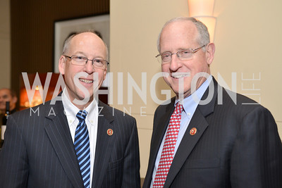 Rep. Greg Walden (R-OR), Rep. Mike Conaway (R-TX) Washington Press Club Foundation hosts the 70th Annual Congressional Dinner.  Mandarin Oriental Hotel, February 5, 2014.  Photo by Ben Droz.