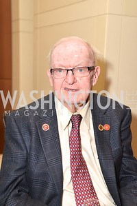 Rep. Howard Coble (R-NC) Washington Press Club Foundation hosts the 70th Annual Congressional Dinner.  Mandarin Oriental Hotel, February 5, 2014.  Photo by Ben Droz.