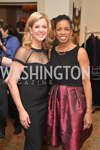Briana Keilar, Rep. Donna Edwards, Washington Press Club Foundation hosts the 70th Annual Congressional Dinner.  Mandarin Oriental Hotel, February 5, 2014.  Photo by Ben Droz.