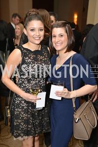 Simone Perez, Nancy Cordes, Washington Press Club Foundation hosts the 70th Annual Congressional Dinner.  Mandarin Oriental Hotel, February 5, 2014.  Photo by Ben Droz.