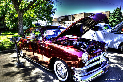 8th Annual Old Settler's Day Car Show, Highmore, SD, June 15, 2013