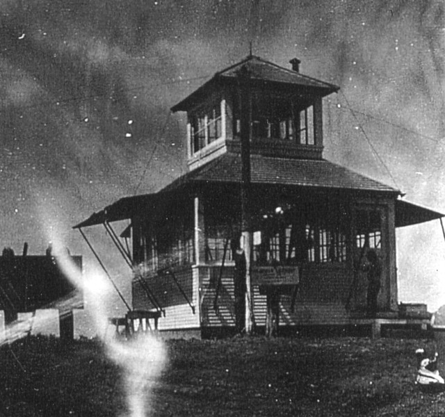 Barney Tillpath, the Fire Watchman on duty at Deadman Fire Lookout reported seeing the plane circling the peaks with engine trouble.<br /> <br /> By coincidence, Barney Tillpath also reported the TB-24J crash just three days prior.