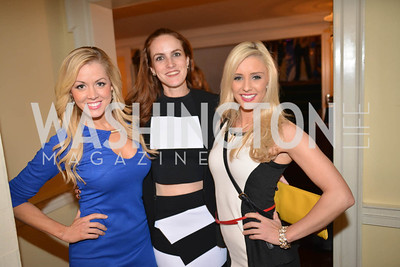 Catherine Carlstedt, Kate Goodall, Ashley Finger. 9th Annual, Chance for Life, Poker Tournament, City Tavern Club, Saturday, February 22, 2014.  Photo by Ben Droz.
