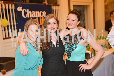 Daniela Vilela, Katelyn Gimbel, 9th Annual, Chance for Life, Poker Tournament, City Tavern Club, Saturday, February 22, 2014.  Photo by Ben Droz.