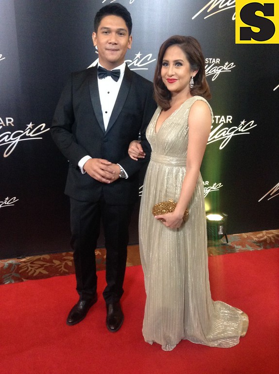 Jolina Magdangal with husband Mark Escueta