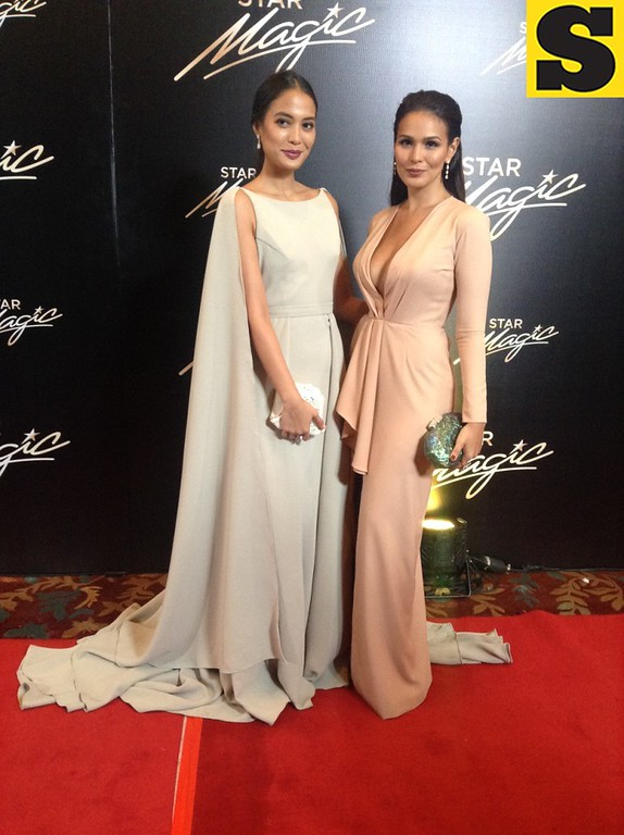 Isabel Daza and Iza Calzado