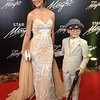 Jodi Sta  Maria in Hannah Kong with son Thirdy
