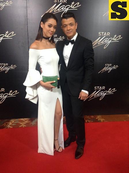 Jericho Rosales with wife Kim Jones