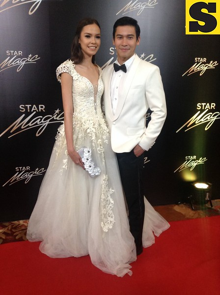 Enchong Dee with model girlfriend Samantha Lewis