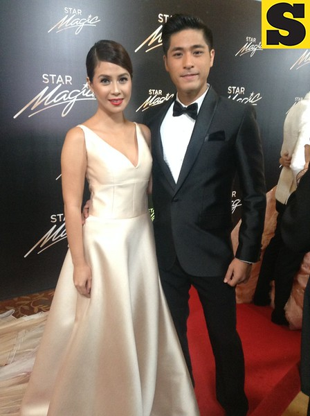 Kaye Abad with Paul Jake Castillo