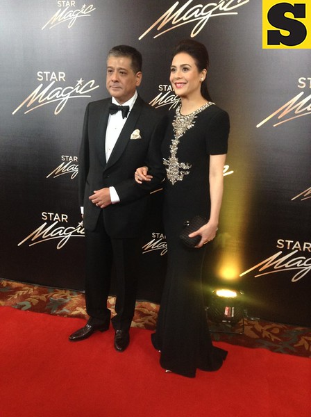 Dawn Zulueta with husband Cong  Anton Lagdameo
