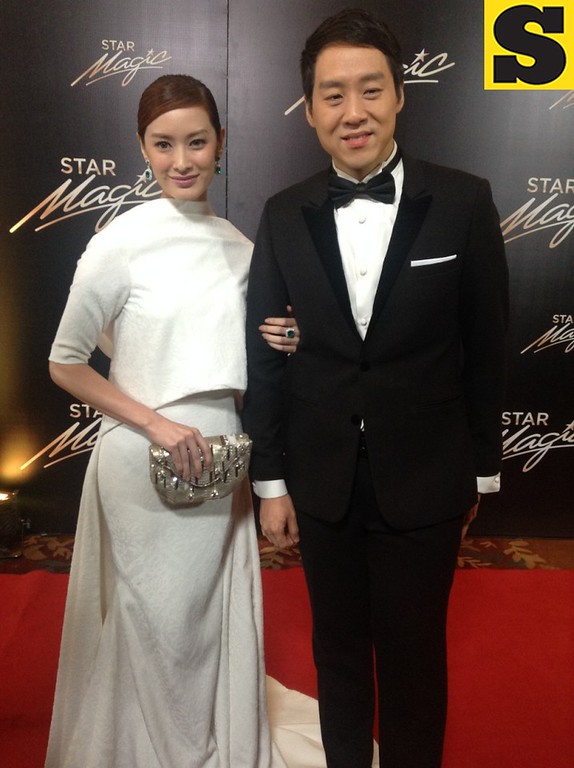 Showbiz couple Maricar Reyes and Richard Poon