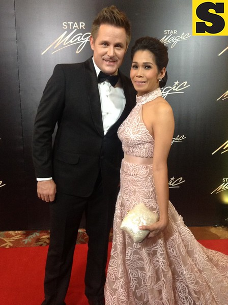 Pokwang with Lee O'Brien
