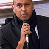<b>KEVIN POWELL</b>, of BK Nation, pointed to the systemic nature of stop and frisk. It's part of the entire fabric of racial oppression and the instruments designed to keep that system in place, he said.