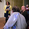 Lafayette Avenue Presbyterian Church hosted the meeting. Its pastor,<B> REV. CARMEN MASON-BROWNE</B>, welcomed people.