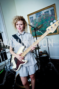 Norwegian superstar Maya Vik. Photo by Tony Powell. A Night of Arctic Cool. Norwegian Ambassador's Residence. March 17, 2014