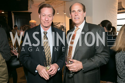 Charles Sills, David Miller. Photo by Alfredo Flores. A Tourist of Saints Book Launch at Malmaison‏. Malmaison. April 17, 2014