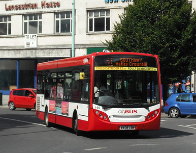 140 - WA08LDN - Plymouth (Derry's Cross) - 10.8.09