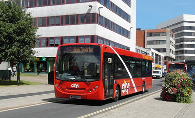137 - WA08LDJ - Plymouth (Mayflower St) - 29.7.13
