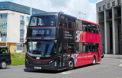 550 - WA17FSU - Plymouth (Royal Parade)
