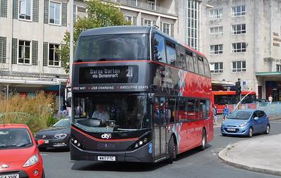555 - WA17FTC - Plymouth (Royal Parade)