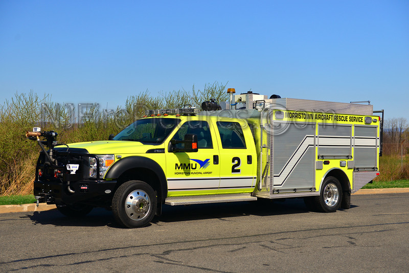 MORRISTOWN MUNICIPAL AIRPORT (NJ) RESCUE 2 - 2013 FORD F550/KME 250/300/50F/500PKP