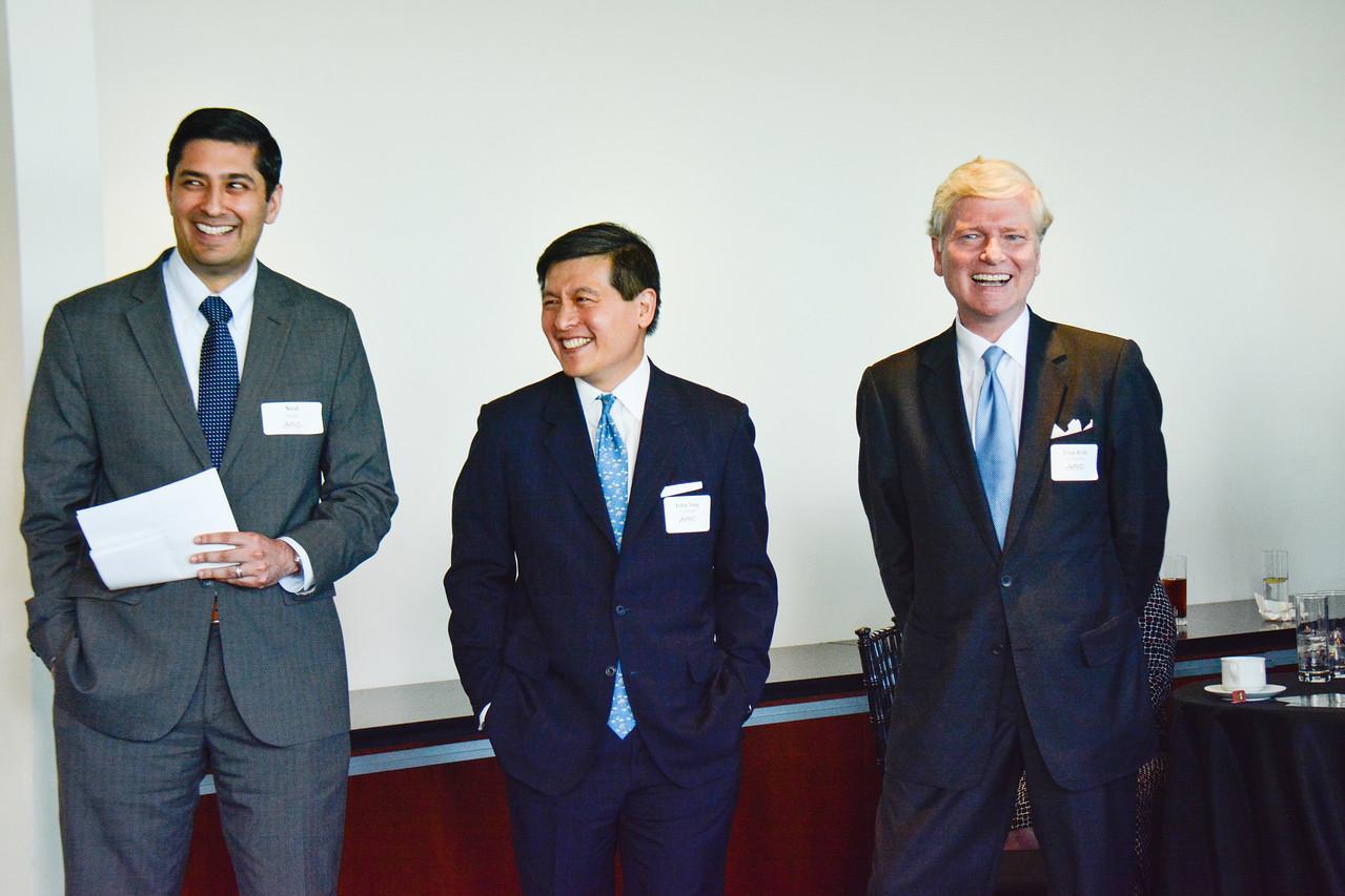 Neal Patel; John Ying; Tom Britt