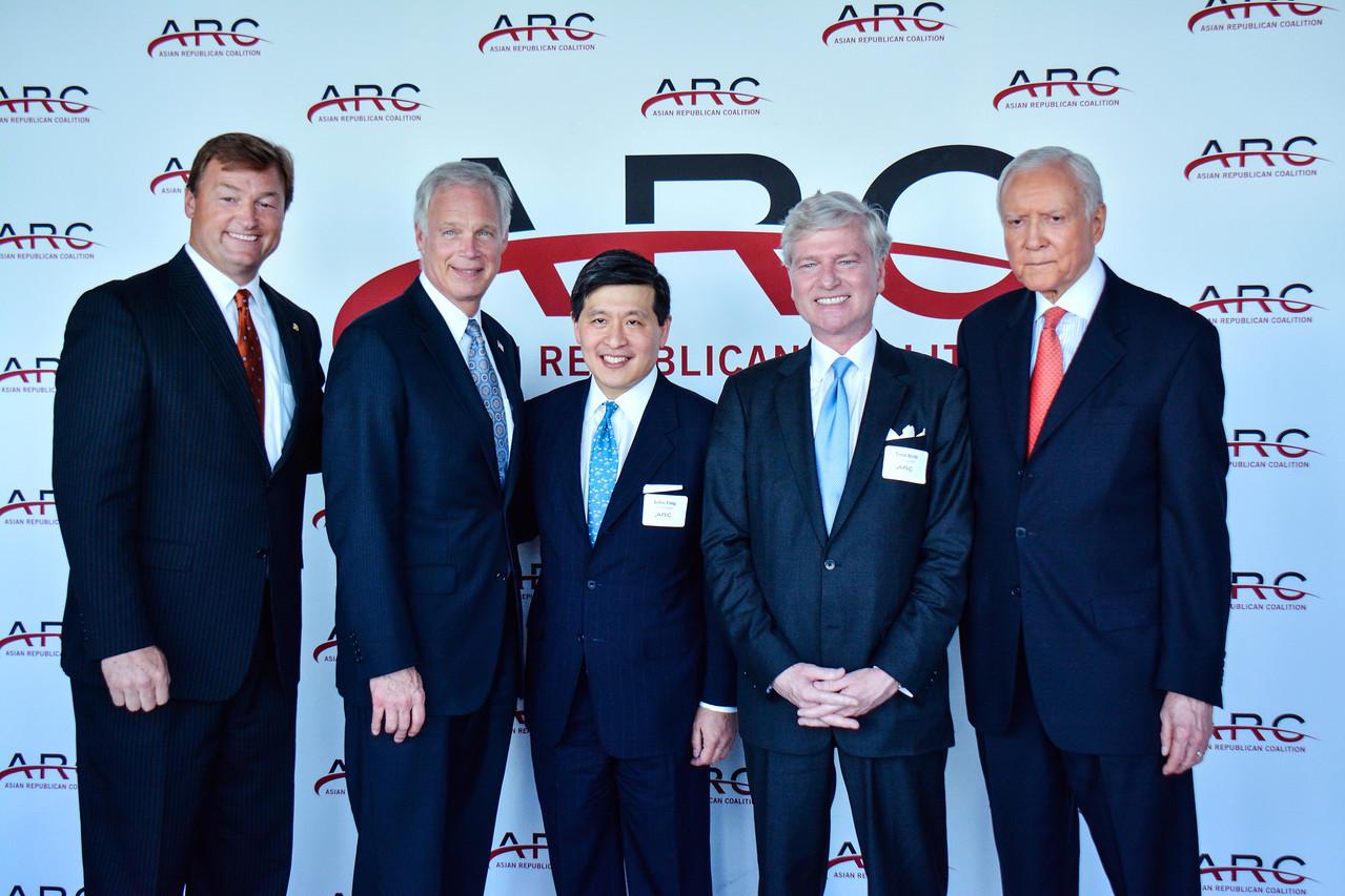 Dean Heller; Ron Johnson; John Ying; Tom Britt; Orrin Hatch