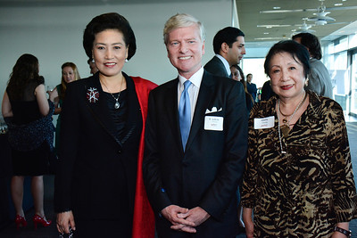Tian Linzhi; Tom Britt; Gloria Chang
